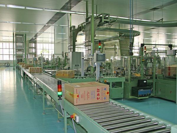 漯河烟厂成品输送系统