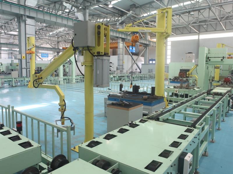 动车电机检修输送系统
