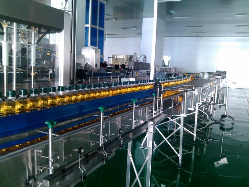 玉米油灌装输送系统