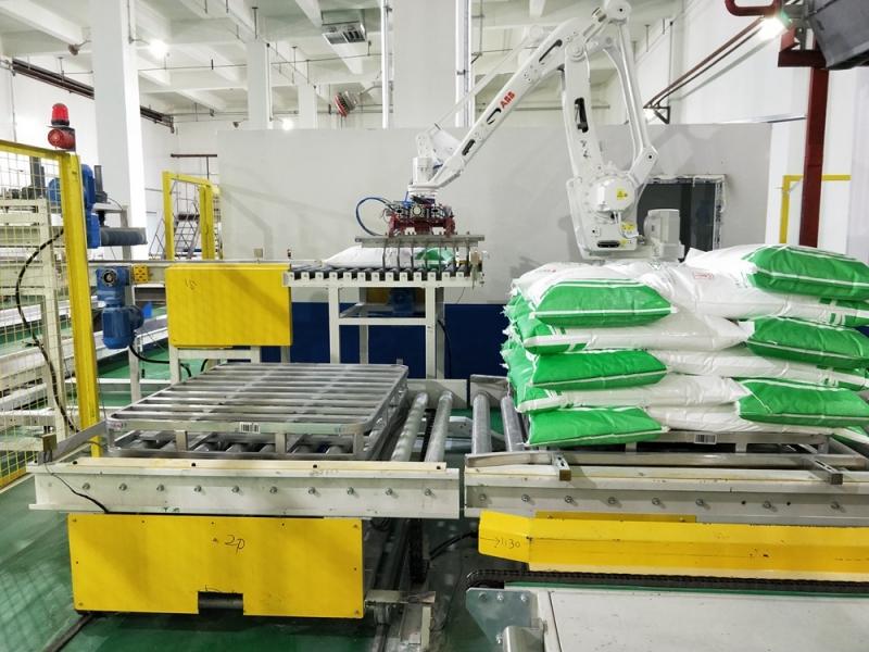 粉糖成品袋输送码垛系统