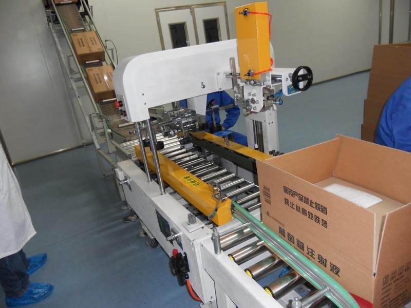 药业成品包装输送系统